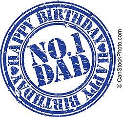אבא, וקטור, גראנג, יום הולדת, שמח