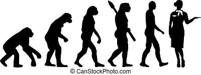 אבולוציה, דיילת
