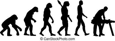 אבולוציה, נגר