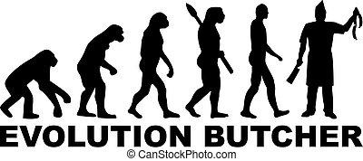 אבולוציה, שחוט