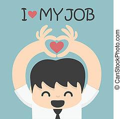 אהוב, עבודה, שלי