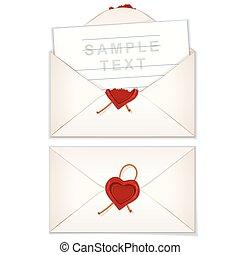 אהוב, של דואר, מעטפה, מכתב