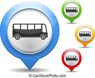 אוטובוס, איקון