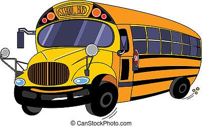 אוטובוס של בית הספר