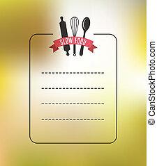 אוכל, בציר, קבע, רקע, מסעדה