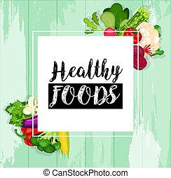 אוכל, בריאות, רקע