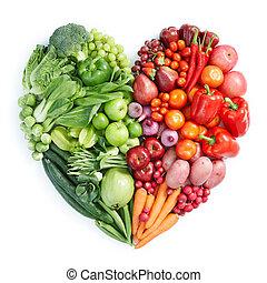 אוכל בריא, אדום ירוק