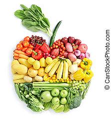 אוכל בריא, apple: