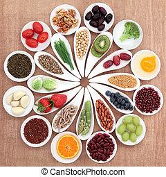אוכל, טס, בריאות