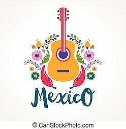 אוכל, יסודות, מוסיקה, מקסיקו