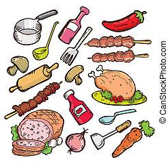 אוכל, כלי בישול