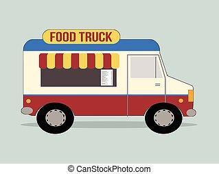 אוכל, משאית
