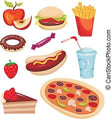 אוכל, קבע, מהיר