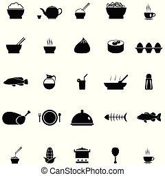 אוכל, קבע, סיני, איקון