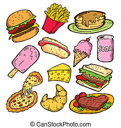 אוכל, שרבט, זבל