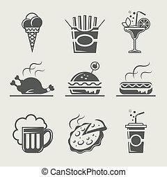 אוכל, שתה, מהיר