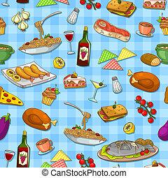 אוכל, תבנית