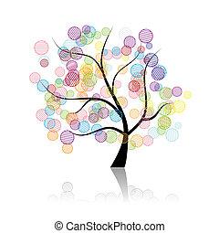 אומנות, עץ, פנטזיה
