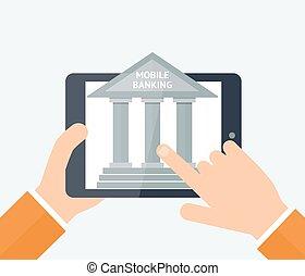 אונליין, מושג, בנקאות