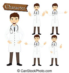 אופי, וקטור, קבע, דוגמה, רופא
