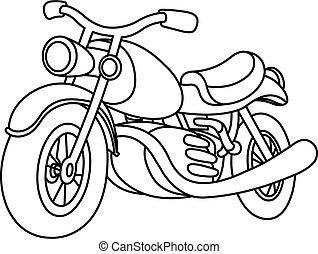 אופנוע, תאר