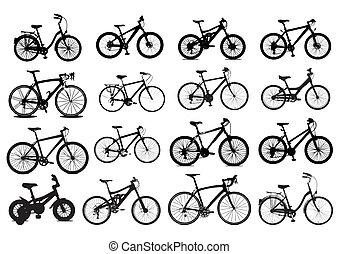 אופניים, איקון