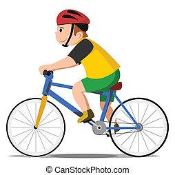 אופניים, צחק