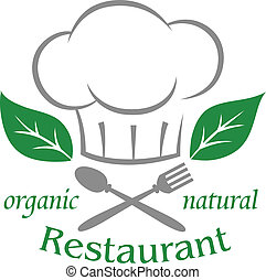 אורגני, מסעדה, טבעי, איקון