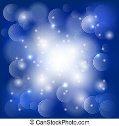אורות כחולים, תקציר, רקע