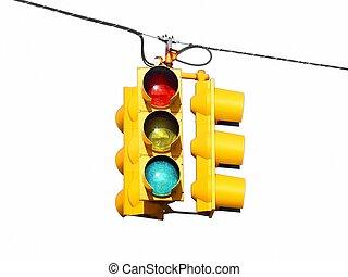 אורות, רחוב אמריקאי, תנועה, אותנו