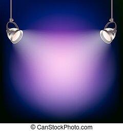 אור, וקטור, מטול, דוגמה, רקע.