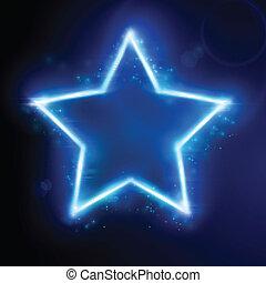 אור כחול, ככב השפעה