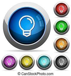 אור, כפתר, קבע, נורת חשמל