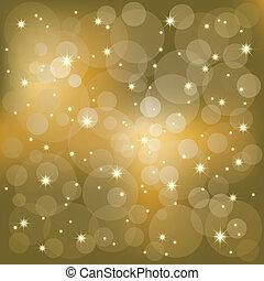 אור, להתנצנץ, כוכבים, רקע