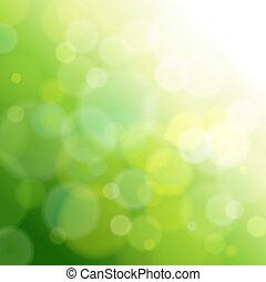 אור, תקציר, ירוק, רקע.