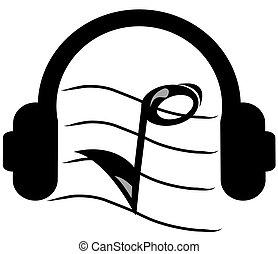 אזניות, מוסיקה מקשיבה