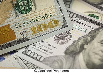 אחד, bill., תקציר, דולר, פרט, מישהו, מדינות, עצב, מחדש, מאות