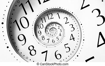 אין סוף, הסתבב, זמן