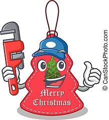 אינסטלטור, חג המולד, קירות, פתקים, לתלות, ציור היתולי