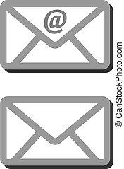 איקון, שלח, מעטפה