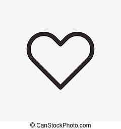 איקון, תאר, לב