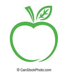 איקון, תפוח עץ