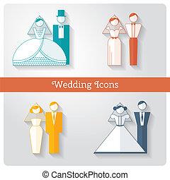 איקונים, קבע, דירה, חתונה