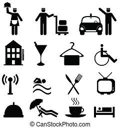 אירוח, מלון, קבע, איקון
