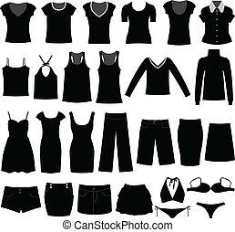 אישה, חולצה, בד, לבש, נקבה, ילדה