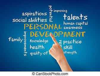 אישי, התפתחות