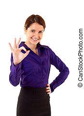 אישת עסקים, ספק, תוצאות