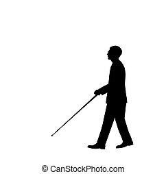 איש עיוור