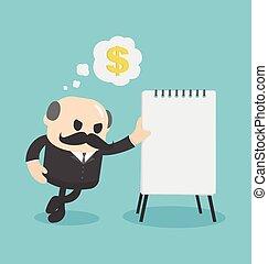 איש עסקים, להראות, תוכנית כספית