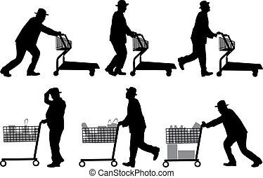 איש, קניות